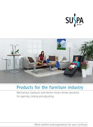 Products for the furniture industry
